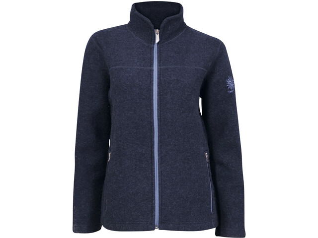 Ivanhoe of Sweden Beata Veste polaire zippée Femme, light navy